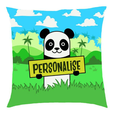 Kids Panda Cushion
