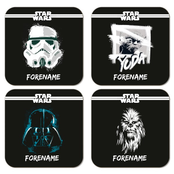 Star Wars Group Star Wars Paint Coasters