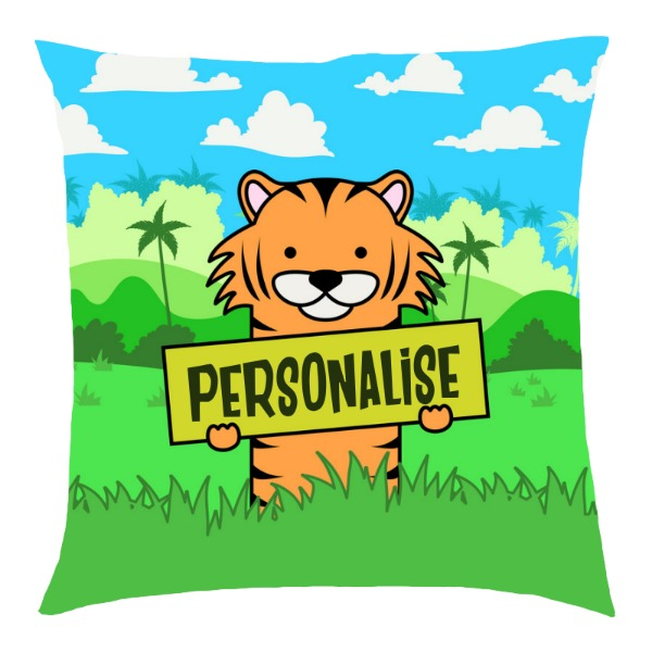 Kids Tiger Cushion