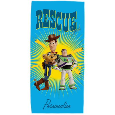 Toy Story 4 Kids Towel - Rescue Squad