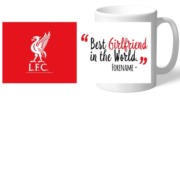Liverpool FC Best Girlfriend In The World Mug