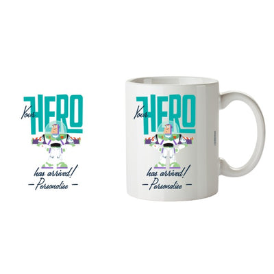 Toy Story 4 Personalised Your Hero Has Arrived Ceramic Mug