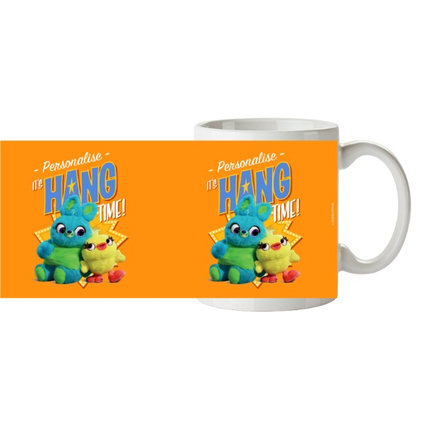 Toy Story 4 Personalised It's Hang Time Ceramic Mug