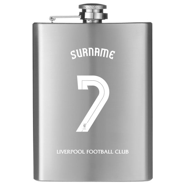 Liverpool FC Shirt Hip Flask