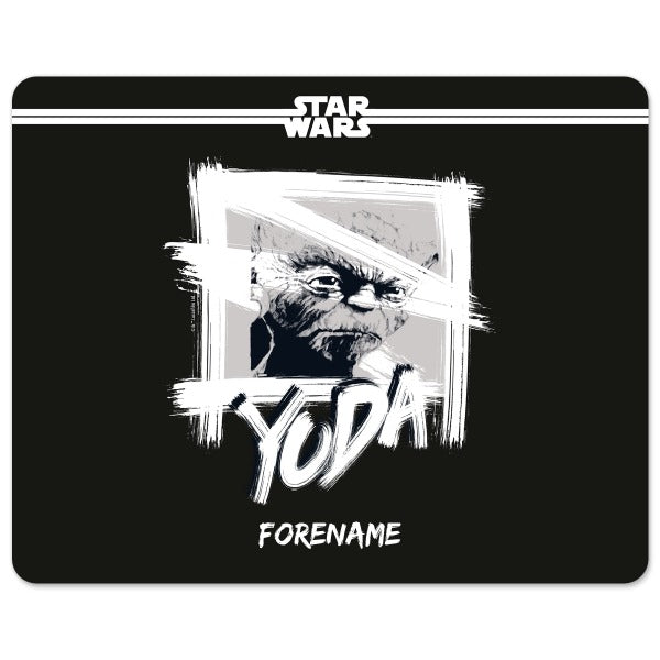 Star Wars Yoda Paint  Mouse Mat