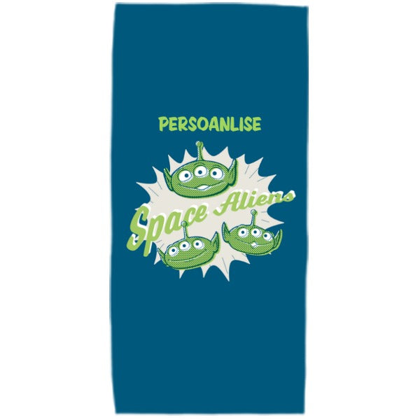 Toy Story 4 Kids Towel - Space Aliens