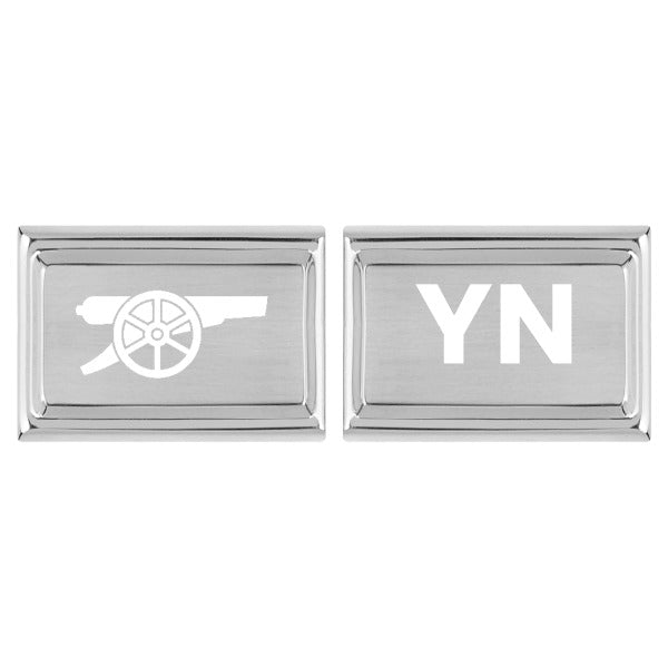 Arsenal Personalised Cufflink
