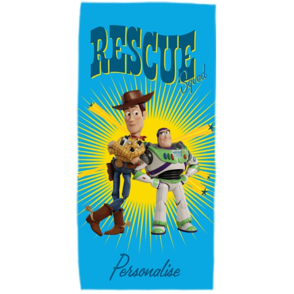 Toy Story 4 Adult Towel - Rescue Squad