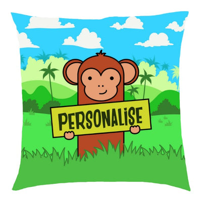 Kids Monkey Cushion