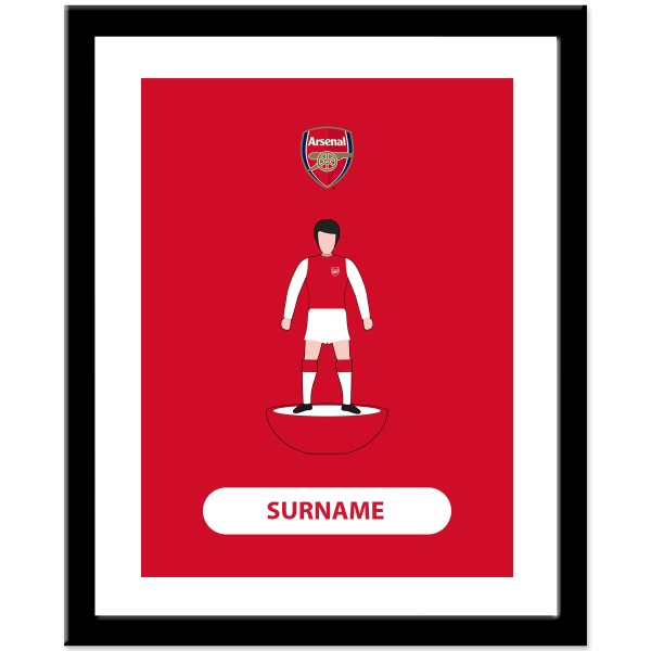 Arsenal FC Player Figure Print