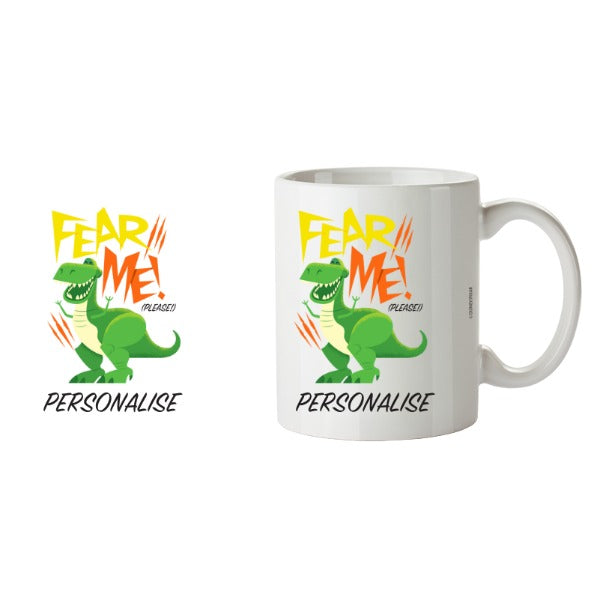 Toy Story 4 Personalised Fear Me Please Ceramic Mug