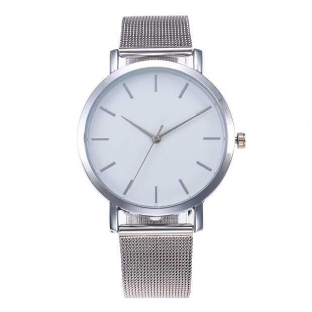 Gold Sliver Mesh Women's Watch - VertaStyle