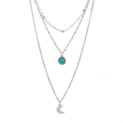 Women's Silver Necklace - VertaStyle