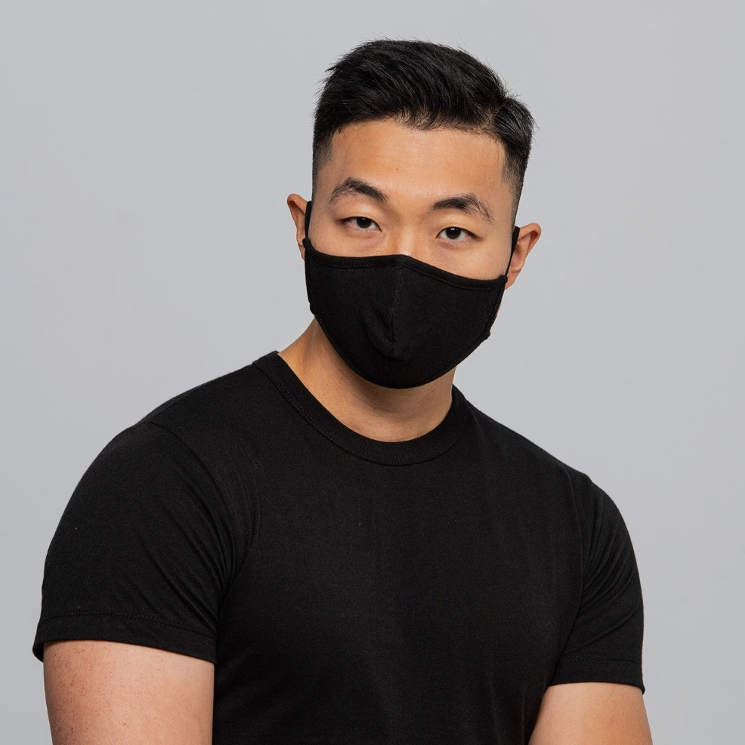 Set of 2 Reusable Masks - Black