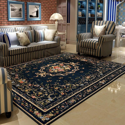 Mediterranean Rug - [home-sweet-abode] home decor, decor, furniture, area rugs, rugs, macrame, indoor plants, house plants, curtains