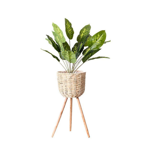 Bamboo Planter - [home-sweet-abode] home decor, decor, furniture, area rugs, rugs, macrame, indoor plants, house plants, curtains