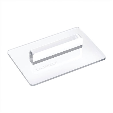 Lacupella Acrylic Transparent Fondant Smoother Rectangle