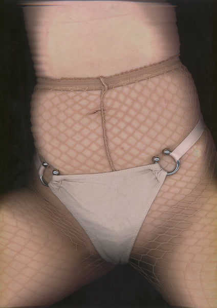 Toxic Adjustable Thong In Nude