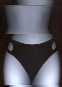WITH YOU BRIEFS IN BLACK