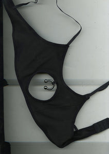 Flesh Tunnel Softcup Bra In Black