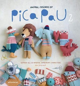 Animal Friends of Pica Pau 2: Gather All 20 Original Amigurumi Characters- Yan Schenkel