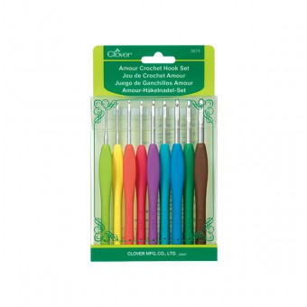 Clover Amour Crochet Hooks Set (2mm - 6mm)