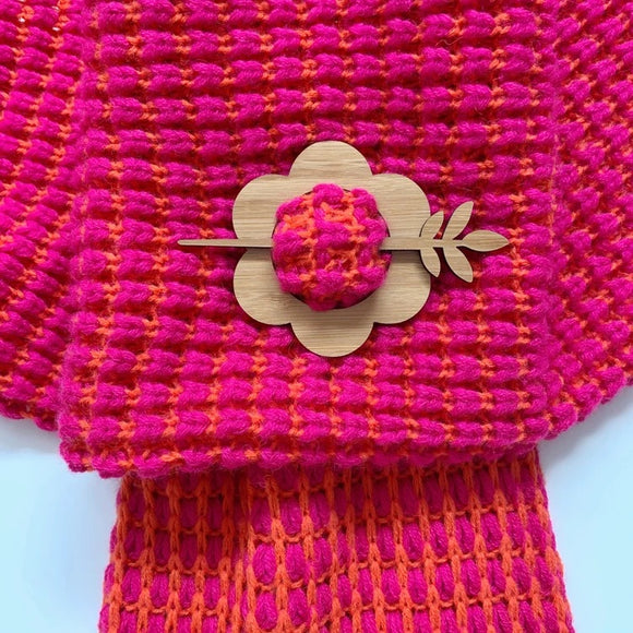 Shawl pins by Wombat Laser