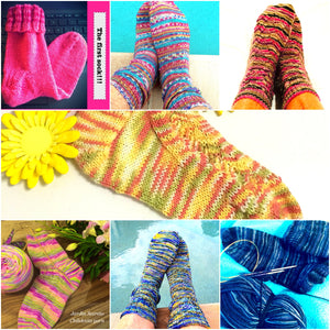 Shortie Socks (Two lesson course)