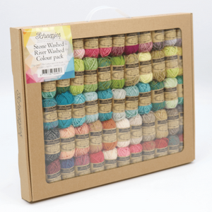 Scheepjes Stone Washed / River Washed Colour Pack