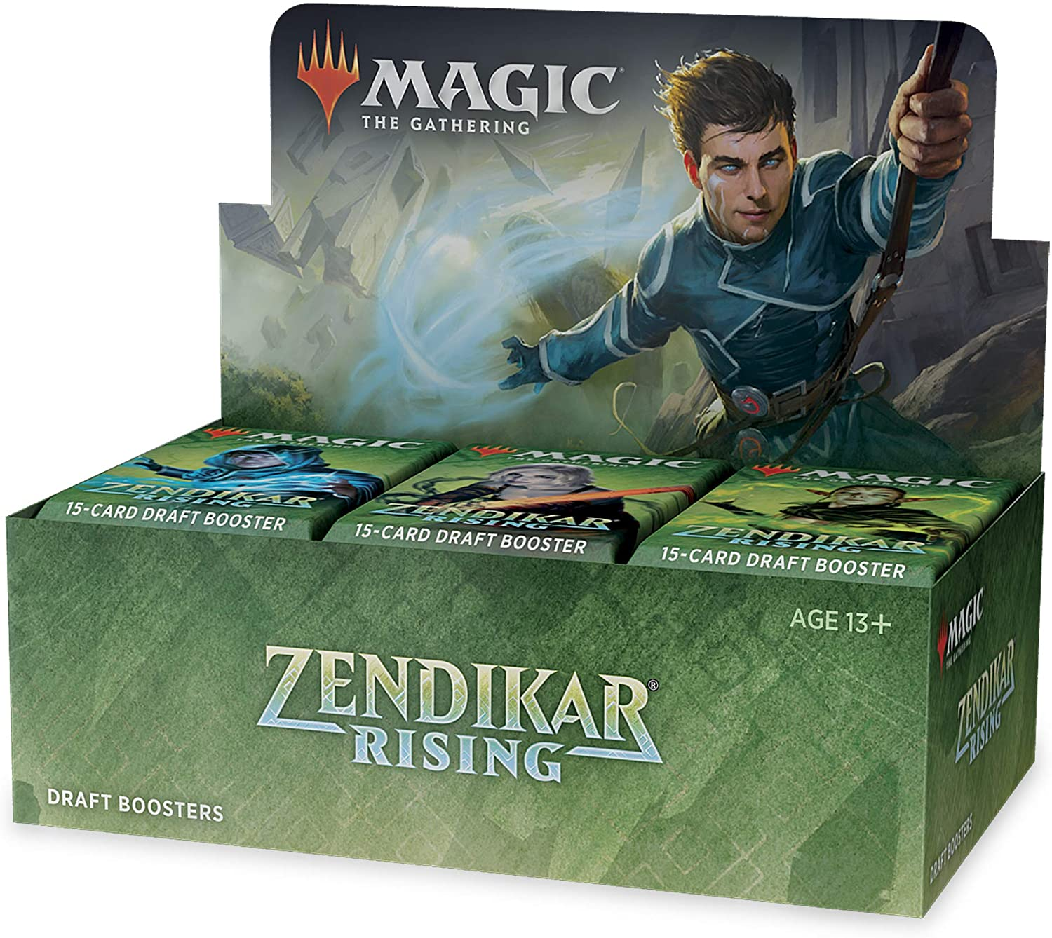 Zendikar Rising Draft Booster Box | Ettin Games
