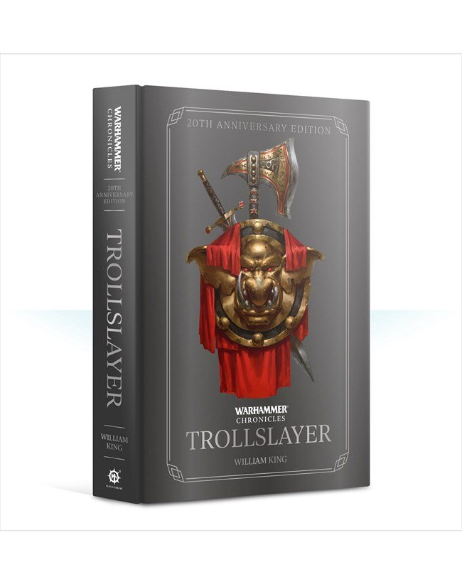 Trollslayer: 20th Anniversary Edition (hardcover) | Ettin Games