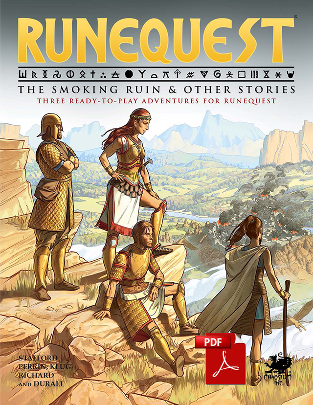 RuneQuest The Smoking Ruin & Other Stories | Ettin Games
