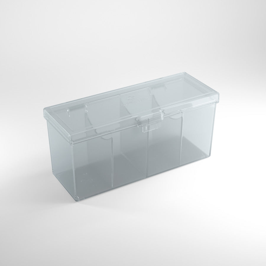 Gamegenic Fourtress 320+ Clear Compartment Box | Ettin Games