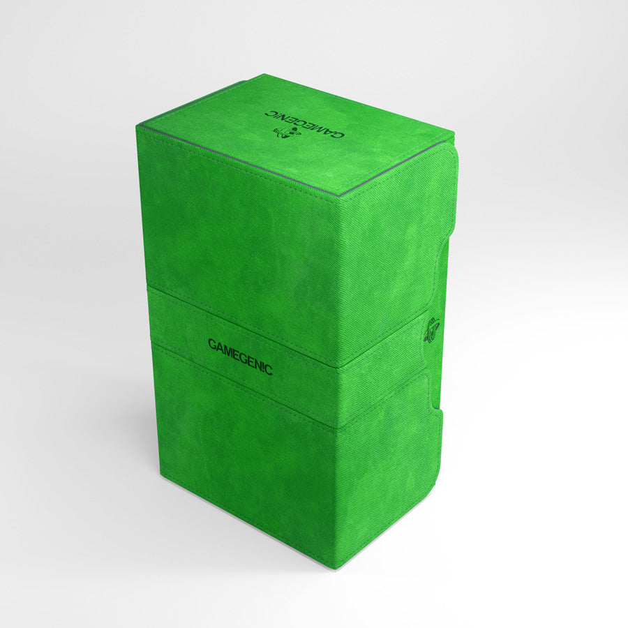 Gamegenic Stronghold Convertible Deck Box 200+ Green | Ettin Games