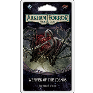 (Pre-order) Arkham Horror: The Card Game - Weaver of the Cosmos Mythos Pack | Ettin Games