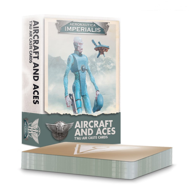Aeronautica Imperialis: Aircraft and Aces - T'au Air Caste Cards | Ettin Games