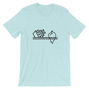 Big Boat Bigger Iceberg Unisex T-Shirt