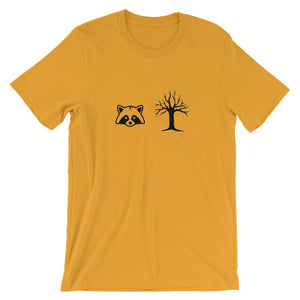 Racoon Tree Partnership Unisex T-Shirt