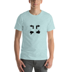 Blue Steel Short-Sleeve Unisex T-Shirt