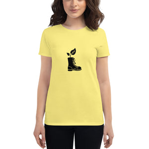 Plant in a Boot Women's t-shirt