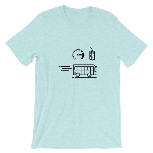 Fast Explody Bus Unisex T-Shirt