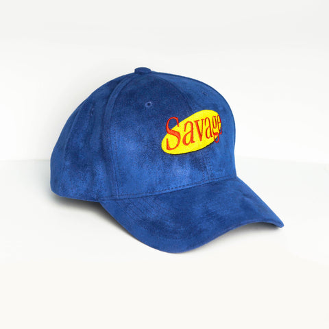Blue Suede Savage Cap