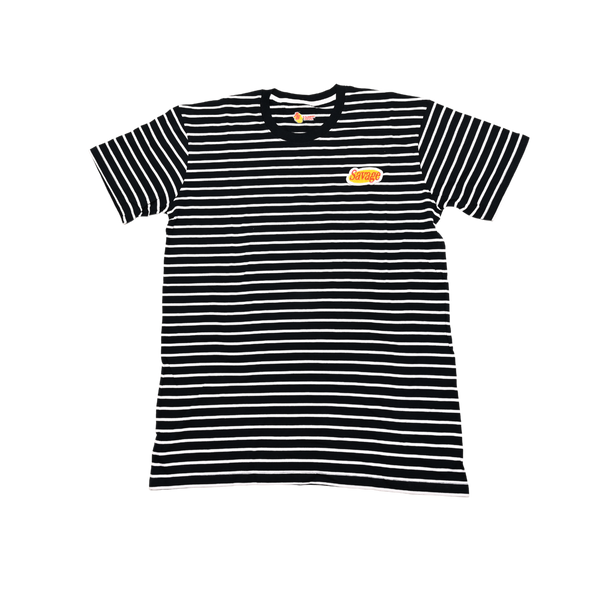 Navy Savage Patch Kids Tee