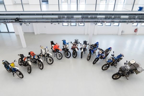 BMW Motorrad 40 years of GS history