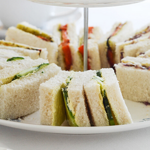 Vegetarian Traditional Afternoon Tea For Two