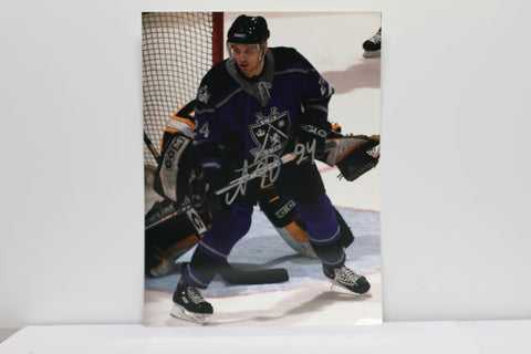 Alexander Frolov 9 x 12 Autographed Player Card