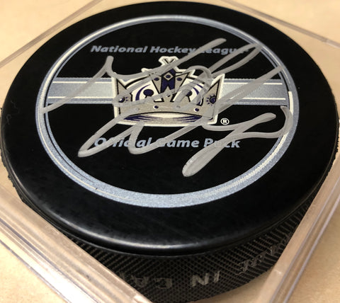 Mike Weaver Signed Puck