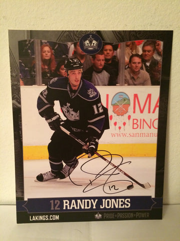 Randy Jones Autographed  8 x 10 Player Card