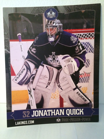 Jonathan Quick 8 x 10 Player Card