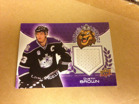 Dustin Brown Upper Deck Jersey Card
